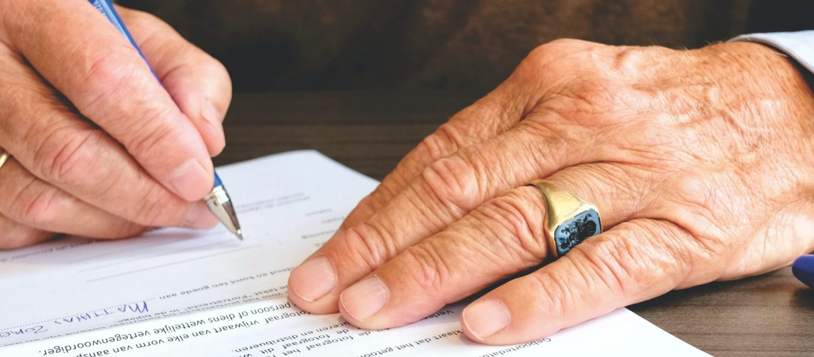 Legal documents for your aging parents
